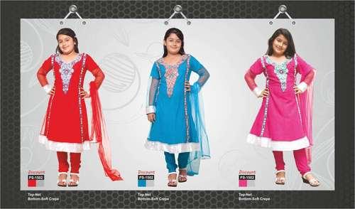 Designer Kids Patiala Suits