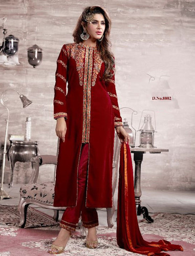 Designer Velvet Style Suit