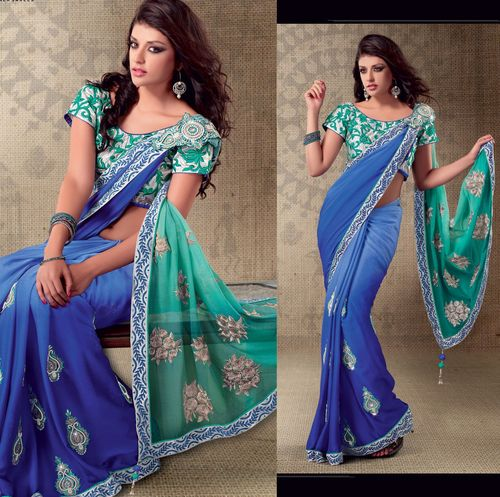 Bollywood Movie Net Replica Sarees