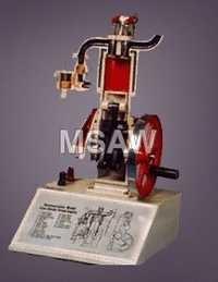 Four Stoke Diesal Engine Model