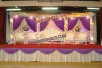 Muslim Wedding Crystal Stage Set