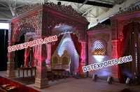 Royal Wedding Mandap Set