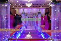 NEW DESIGN WEDDING CRYSTAL PILLARS