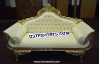 Wedding Golden Love Sofa