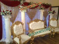 Wedding Royal Gold Furniture Set