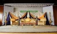 Royal Golden Sofa Set
