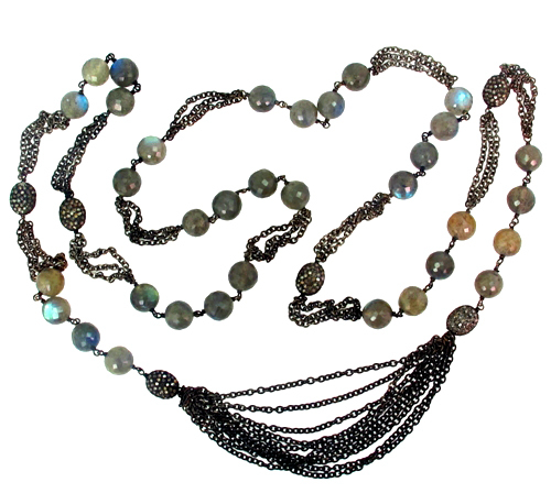 Gemstone Beads Necklace