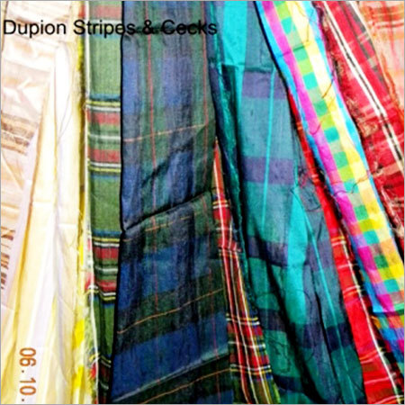 Dupioni Check Fabric