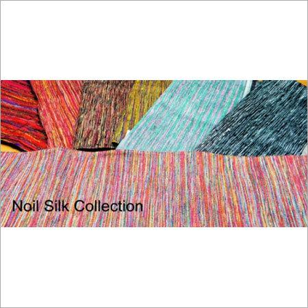 Noil Knit Silk Fabric