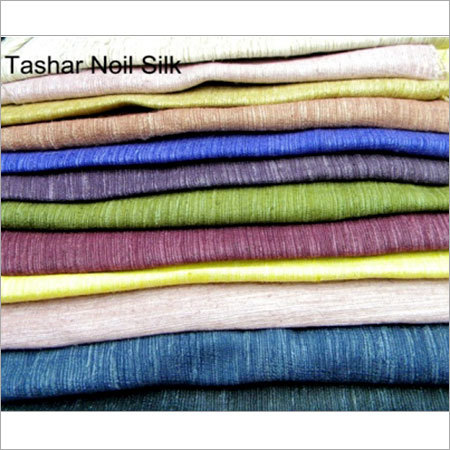 Tashar Noil Silk Fabric