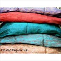 Twisted Dupion Silk Fabrics