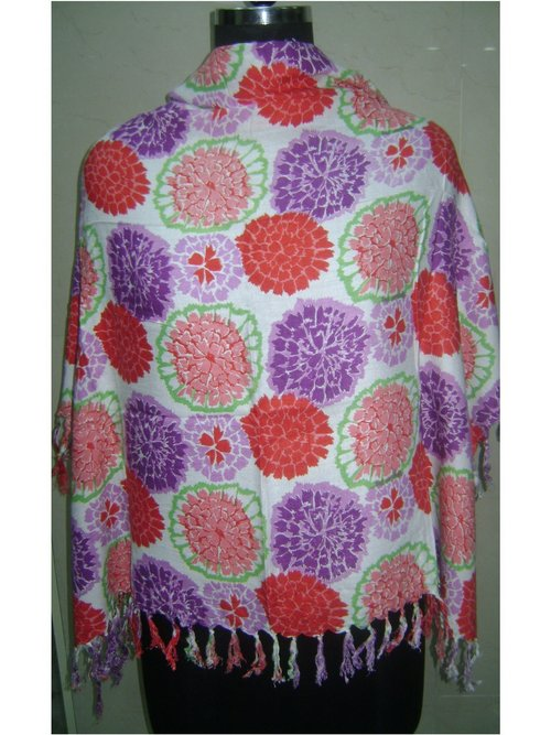 Flower Printed Stole