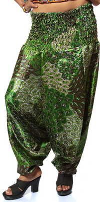 printed green Trouser