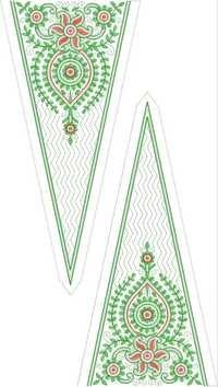 Embroidered Georgette Kurta