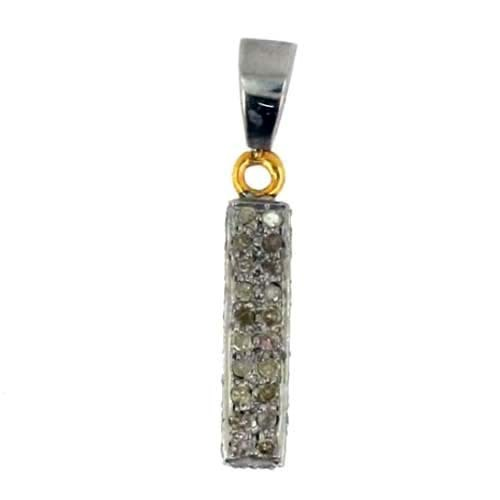 92.5 Sterling Silver Diamond Pendant