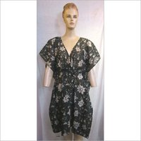 Polyester Flower Printed Tunic