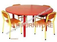 Round School Table With Chairs