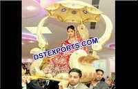Royal Wedding Golden Palki