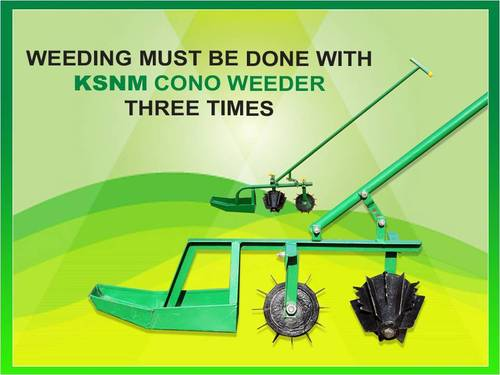 Cono Weeder Machine
