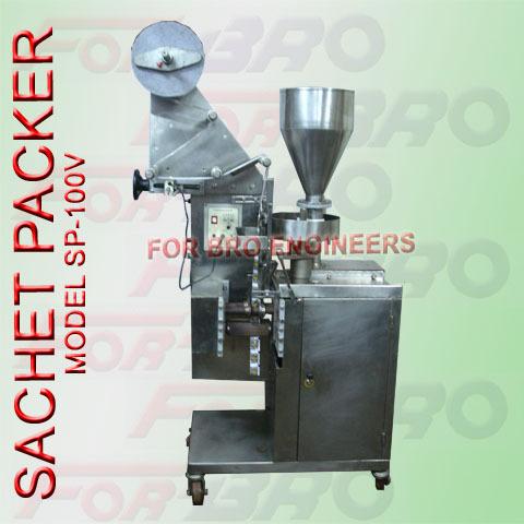Granules and Pulses Sachet Packer Machine
