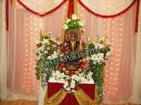 Wedding Ganesha Stage Theme