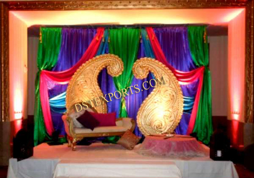 Wedding Stage Decorated Mangos