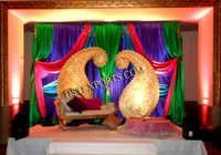 Wedding Stage Decorated Mangos