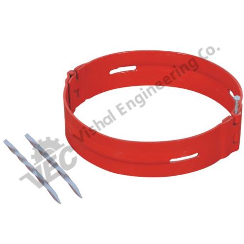 Hinged Spiral Nail Stop Collars