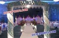 Wedding Crystal Pillar Welcome Gate