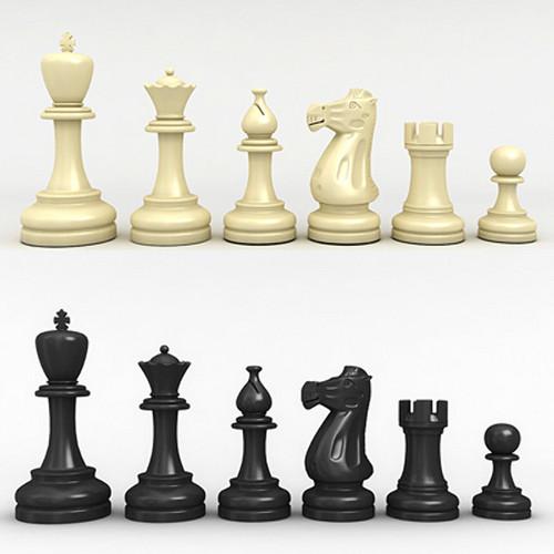 Chess Men - Plastic