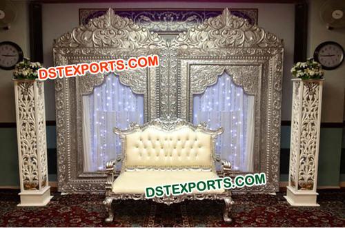 Wedding Silver Backdrop panels