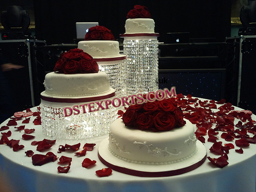 Crystal Cake Stands