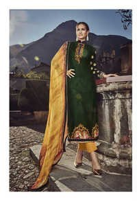 Marvellous Party Wear Pashmina Suit