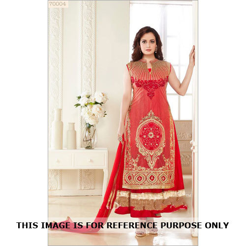 Diya Mirza's Attractive Anarkali Suit
