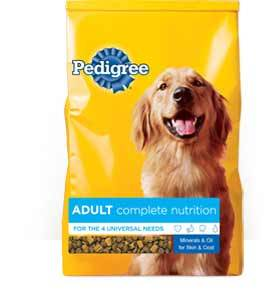 Pedigree Adult Complete Nutrition for Dogs(Dry)