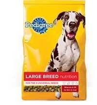 Pedigree Large Breed Nutrition for Dogs(Dry)