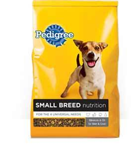 Pedigree Small Breed Nutrition for Dogs(Dry)