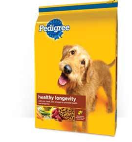 Pedigree Healthy Longevity Food for Dogs(Dry)