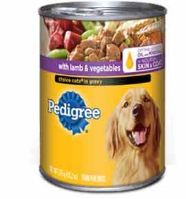Pedigree Choice Cut in Gravy with Lamb and Vegetables(Wet)