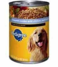 Pedigree Meaty Ground Dinner Chopped Combo with Chicken