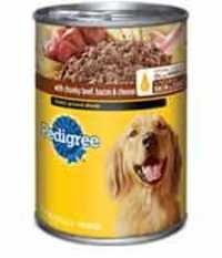 Pedigree Meaty Ground Dinner  with Chunky Beef, Bacon & Cheese (Wet)