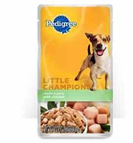 Pedigree Little Champions Chunks in Gravy with Chicken(Wet)