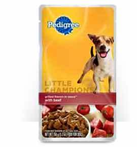 Pedigree Little Champions Grilled Flavors in Sauce with Beef(Wet)