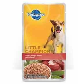 Pedigree Little Champions Meaty Ground Dinner with Beef(Wet)