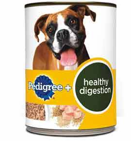 Pedigree Healthy Digestion Premium Ground Entree