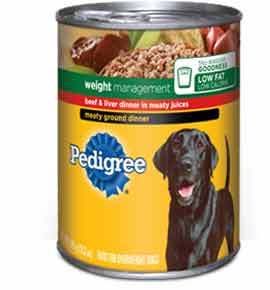 Pedigree Weight management Dinner in Meaty Juices