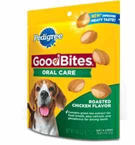 Pedigree GOODBITES Oral Care Snack Food for Dogs