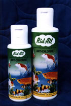 RIDALL ANTI CHLORINE 40ML,120ML, 200ML