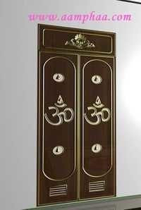 Carved Pooja Door