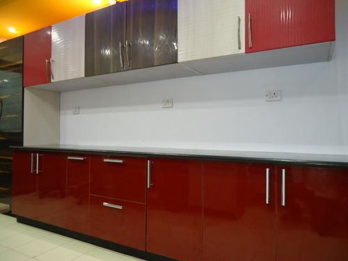 Colourful Modular Kitchen